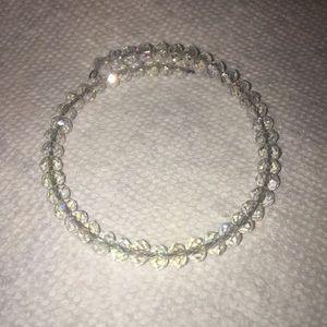 Crystal Style Beaded Expandable Bracelet